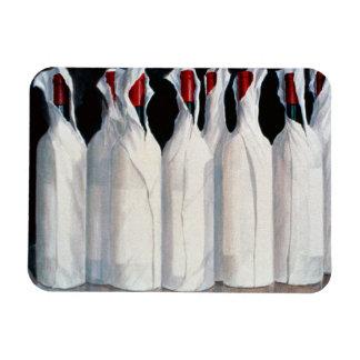 Wrapped Wine Bottles Number 1 1995 Rectangular Photo Magnet