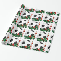 Wrappiing Paper - Soccer Christmas