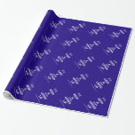 [UK Flag] keep a stiff upper lip  Wrapping paper