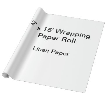 Beach Themed Wrapping Paper (2x15 Roll, Linen Paper)