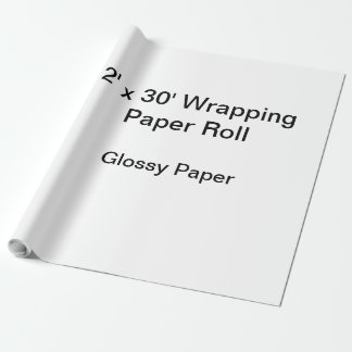 Wrapping Paper (2x30 Roll, Glossy Paper)
