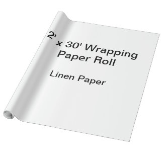Wrapping Paper (2x30 Roll, Linen Paper)