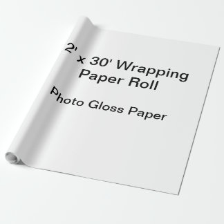 Wrapping Paper (2x30 Roll, Photo Gloss Paper)
