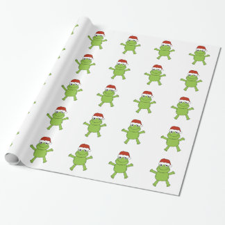 WRAPPING PAPER JOLLY FROG