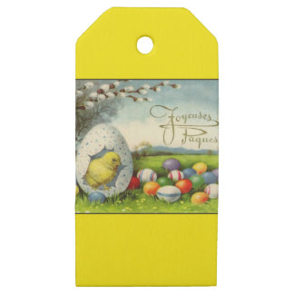 Easter supplies gift wrap easter supplies gift wrapping wrapping paper supplies vintage easter egg wooden gift tags negle Choice Image