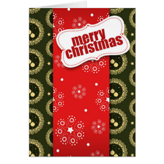 Wrapping Xmas for you Greeting Card