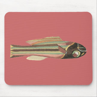 Wrasse Fish Mouse Pad
