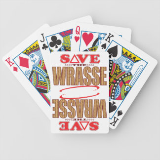 Wrasse Save Bicycle Playing Cards