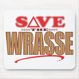 Wrasse Save Mouse Pad