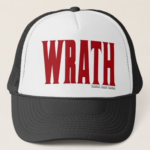 Wrath Logo Trucker Hat