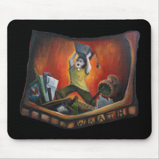 Wrath one of the Original Seven Sins Mouse Pad