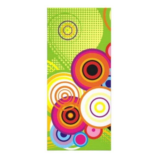 Wrawr Circles Personalized Rack Card