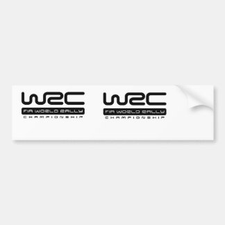 WRC FIR WORLD RALLY CHAMPIONCHIP BUMPER STICKER