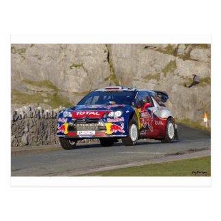 WRC Rally Car Postcard