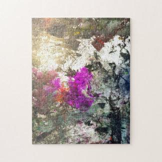 Wreak Havoc Abstract Art Jigsaw Puzzle