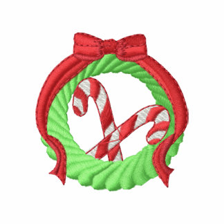 Wreath and Candy Cane