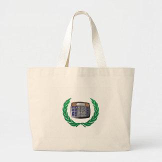 wreath calculator large tote bag
