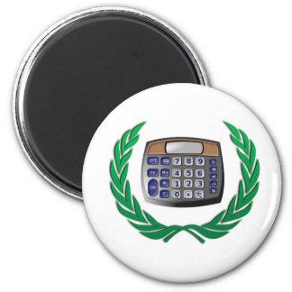 wreath calculator magnet