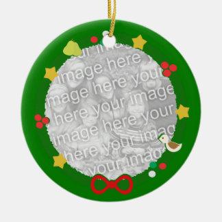 Wreath Custom Ornament