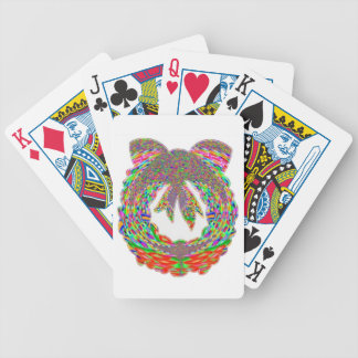 Wreath Diamond Jewel Pattern by Navin Bicycle Playing Cards