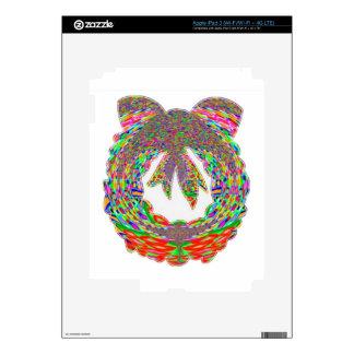 Wreath Diamond Jewel Pattern by Navin Decal For iPad 3