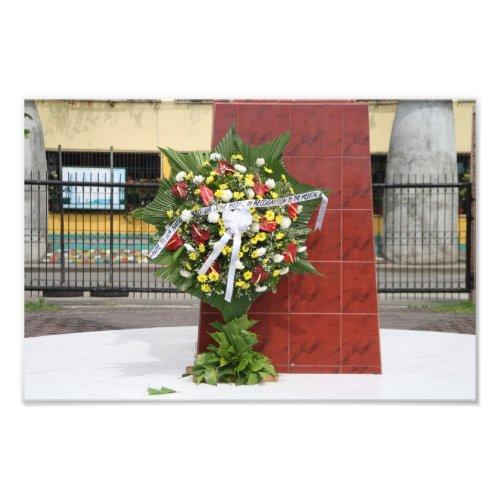 A wreath for Jose Rizal
