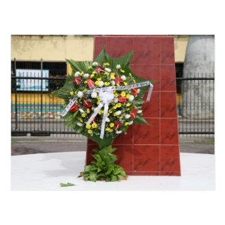 Wreath for Rizal Postcard