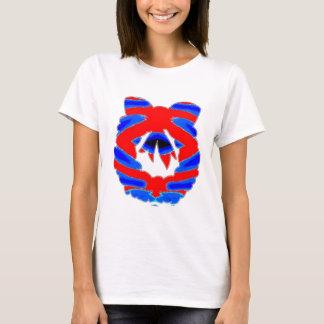 Wreath Garland Diamond Pattern T-Shirt
