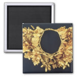 Wreath, Greek, late 4th century BC (gold) 2 Inch Square Magnet