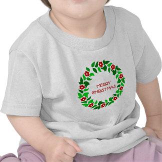 Wreath Greetings - Baby T-shirt