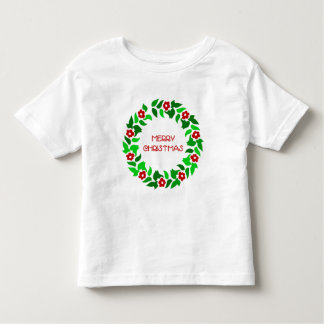 Wreath Greetings - Toddler T-shirt