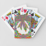 WREATH Jewel Red Ruby Bicycle Playing Cards