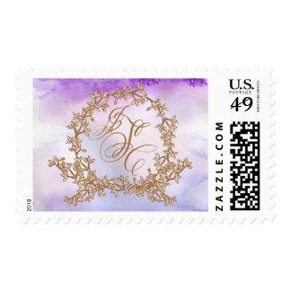 Wreath Monogram Stamp