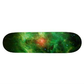 Wreath Nebula, Barnard 3, Milky Way Skateboard