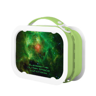 Wreath Nebula, Barnard 3, Outer Space Picture Lunch Box