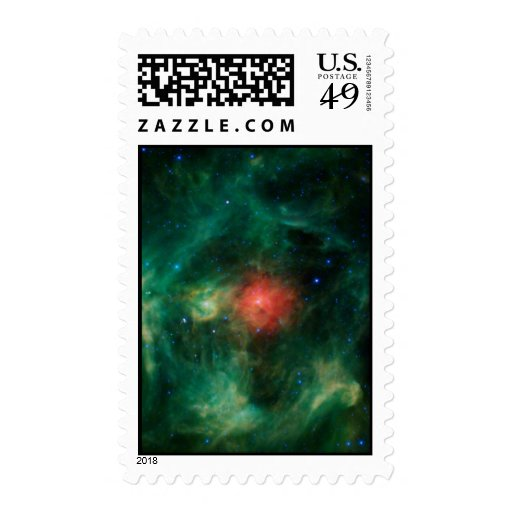 Wreath Nebula Stamp