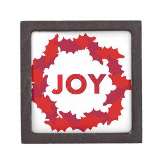 Wreath of Joy Premium Jewelry Box