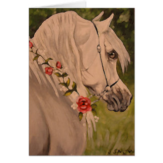 Arabian horse gifts on zazzle quotwreath of rosesquot negle Image collections