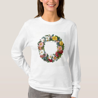 Wreath of Roses, Frontispiece for 'Les Roses' T-Shirt