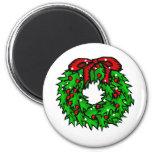 wreath refrigerator magnets