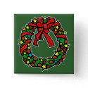 Wreath ribbon bow decorated