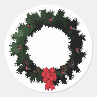 Wreath Sticker