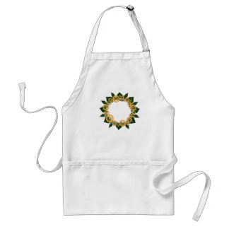 "Wreath ""Sun Fun"" Yellow Flowers Apron"