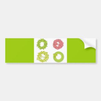 wreath-vector-10021501-large car bumper sticker