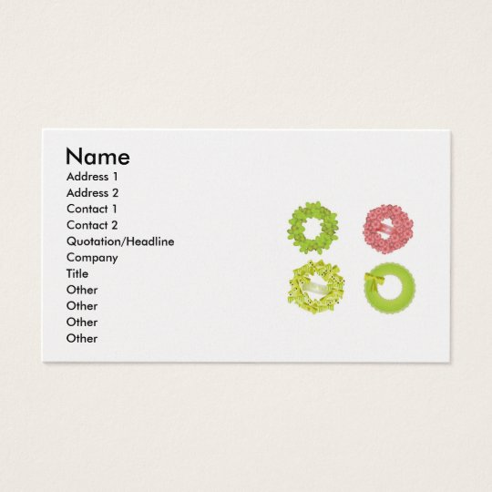 wreath-vector-10021501-large, Name, Address 1, ... Business Card