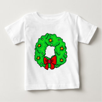 Wreath With Stars Baby T-Shirt