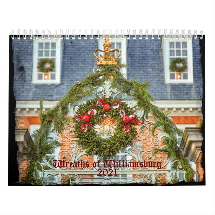 Colonial Williamsburg 2021 Calendar Pictures