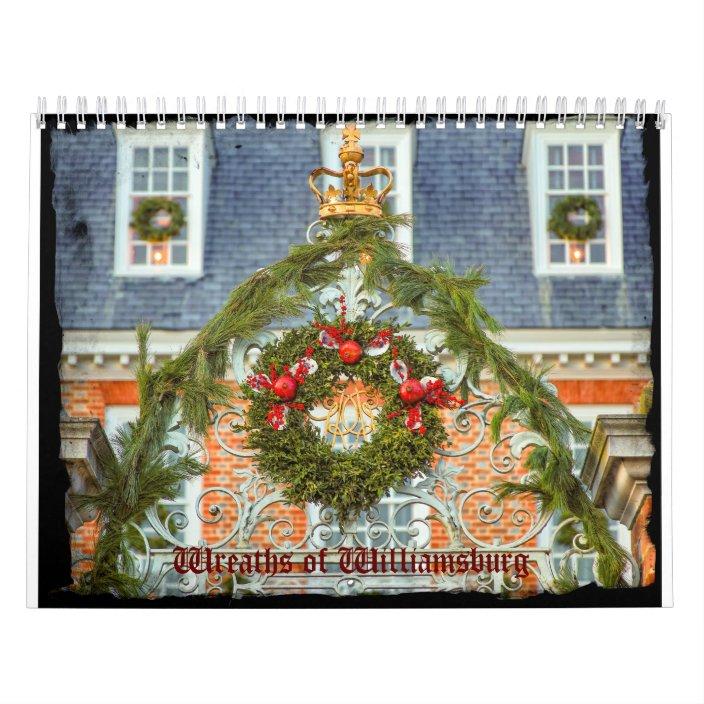 Photos of Colonial Williamsburg 2021 Calendar