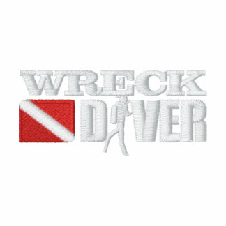 Wreck Diver Embroidered Polo