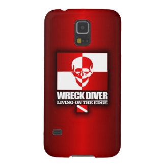 Wreck Diver -Living On The Edge Galaxy S5 Case